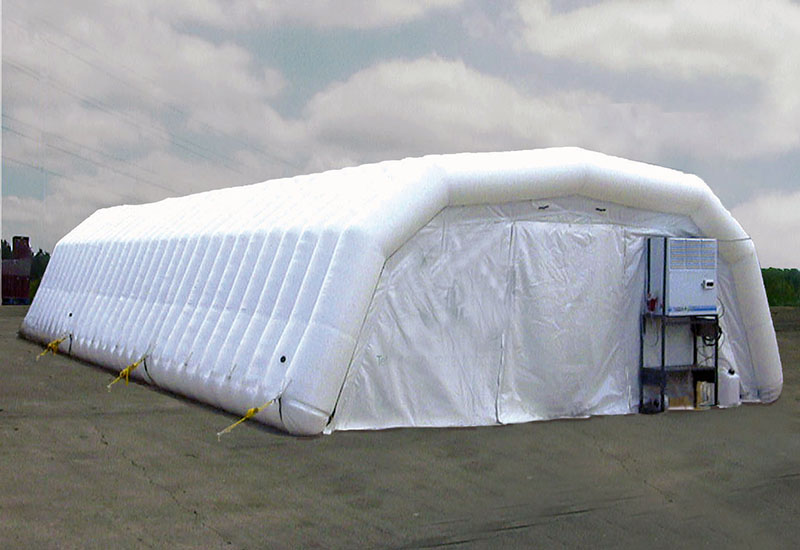 Inflatable industrial structures & Inflatable Structures - Integral Containment